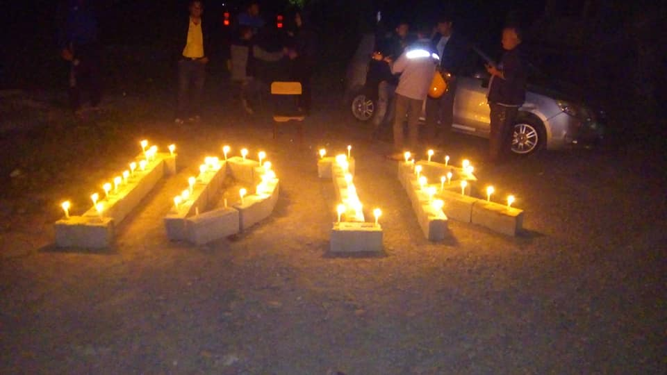 Hommage à Idir à Ait Aissa (Aokas) le mercredi 06 mai 2020 735