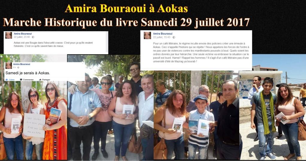 Amira Bouraoui a soutenu activement le Café Littéraire d'Aokas Amira211