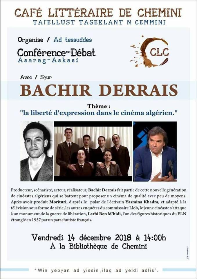 Bachir Derrais à Chemini le vendredi 14 décembre 2018 Bachir10