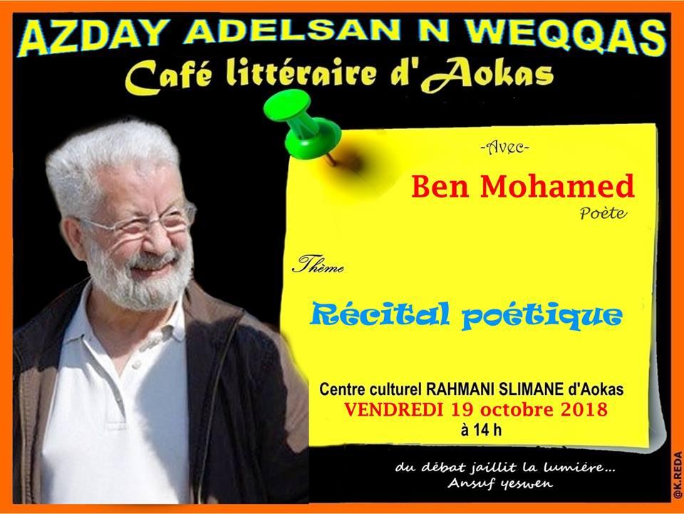 Ben Mohamed à Aokas le vendredi 19 octobre 2018 Ben_mo10