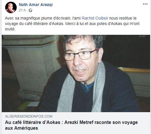 Excellente conférence de Arezki Metref à Aokas le samedi 13 octobre 2018 - Page 2 Captur32