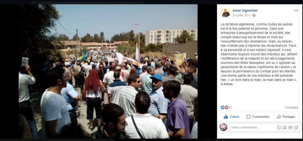 un dispositif de guerre pour interdire la conférence de Ramdane Achab le 22 juillet 2017 à Aokas - Page 4 Captur47