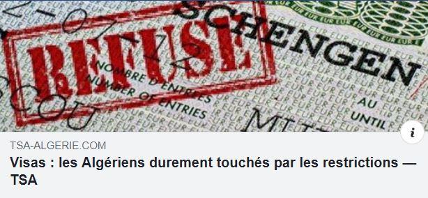 Visas : les Algériens durement touchés par les restrictions Captur63