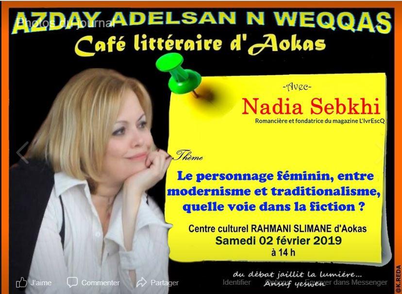 Nadia Sebkhi à Aokas le samedi 02 février 2019 Captur68