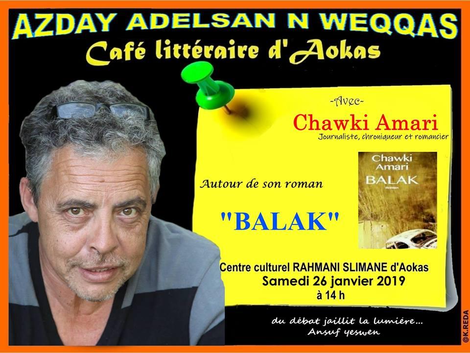 Chawki Amari à Aokas le samedi 26 janvier 2019 Chawki11