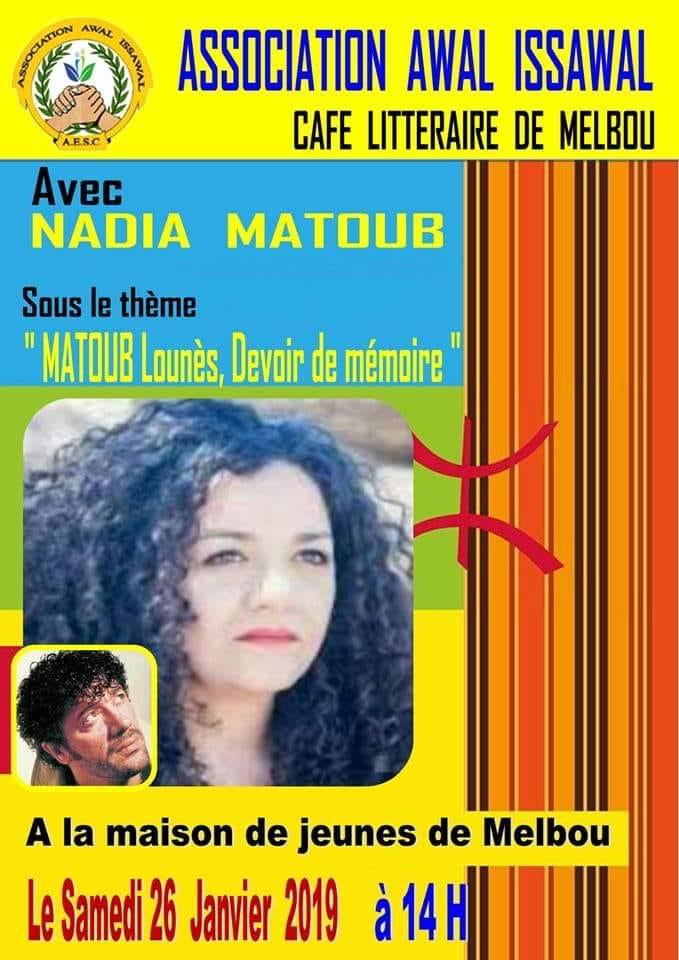 Nadia Matoub à Melbou le samedi 26 janvier 2019 Nadia_10