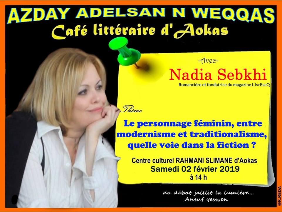 Nadia Sebkhi à Aokas le samedi 02 février 2019 Nadia_11
