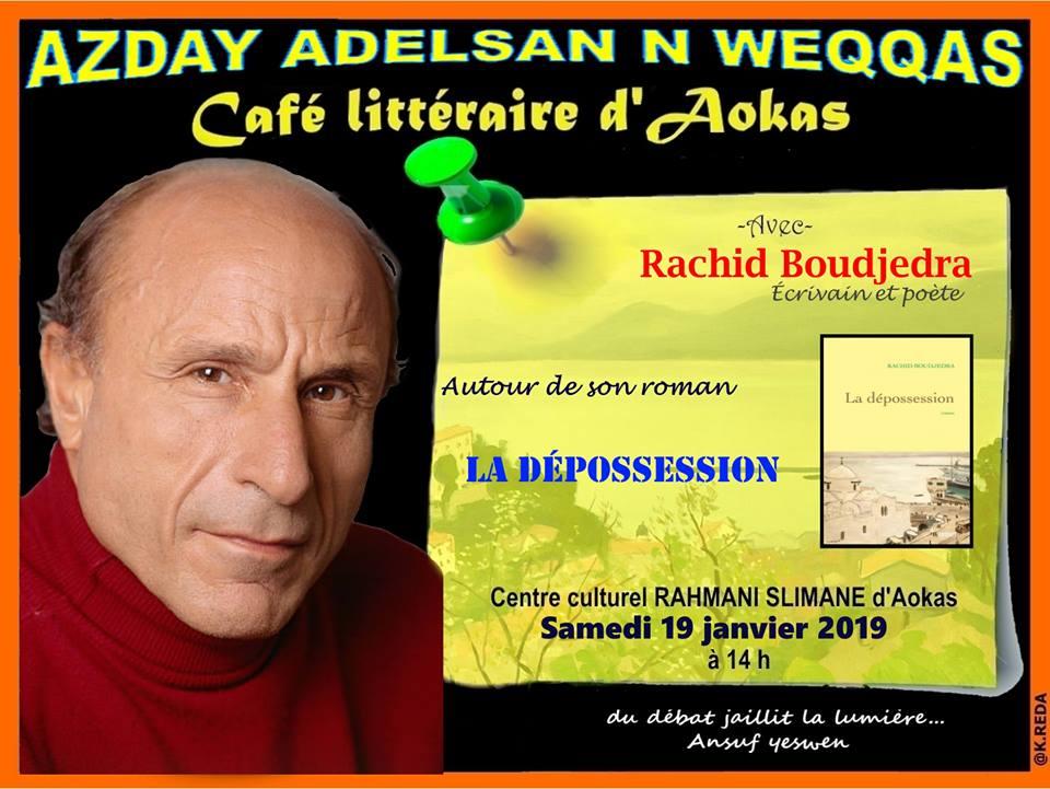 Rachid Boudjedra à Aokas le samedi 19 janvier 2019 Rachid13