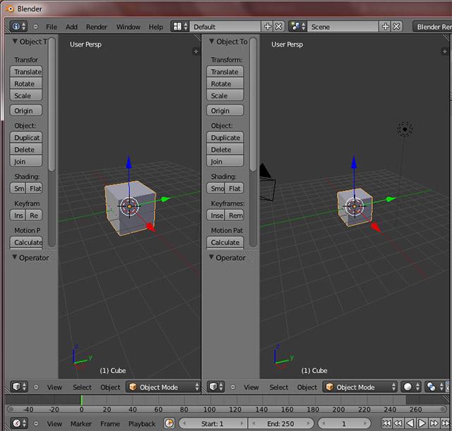 [Débutant] [Blender 2.6 et 2.7] Travailler avec plusieurs écrans Vues210