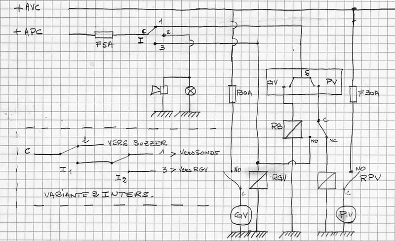 branchement d'un ventilateur kenlowe Volta110