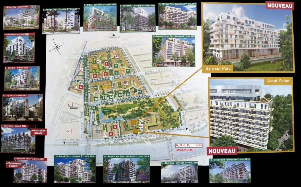 Plan du trapèze / nom des résidences et des rues 27688110