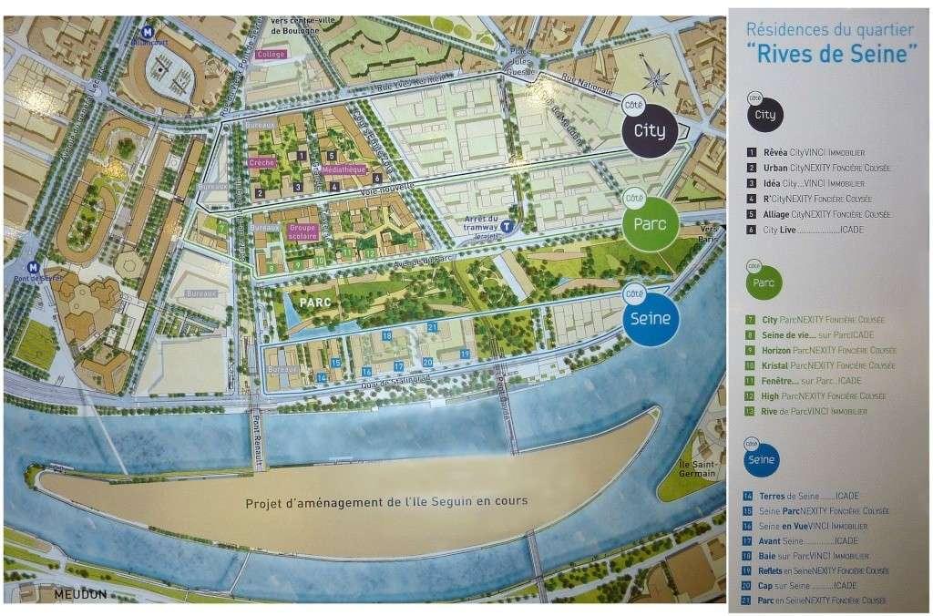 Plan du trapèze / nom des résidences et des rues 44940510