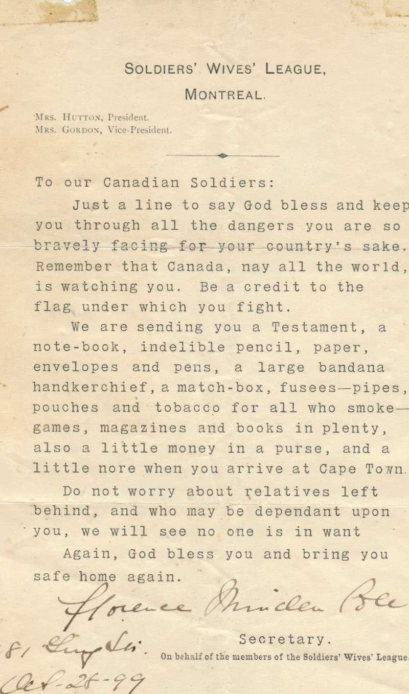SOME CANADIAN BOER WAR PAPER Boer_p10