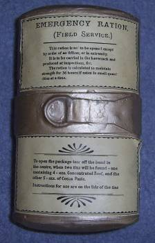 Boer War Emergency Ration Tin Bw_rat12