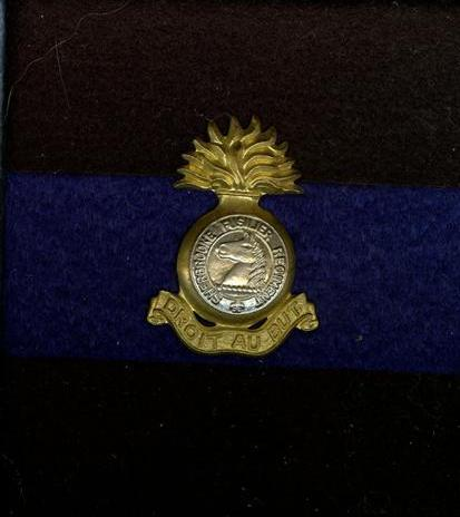 Sherbrooke fusiler Regiment lapel pin The_sh10