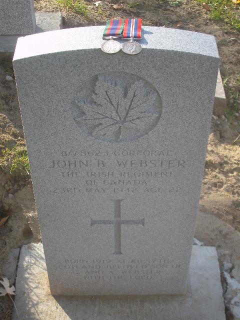 Cpl J.B. Webster  Webste11