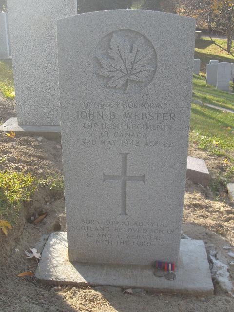 Cpl J.B. Webster  Webste12