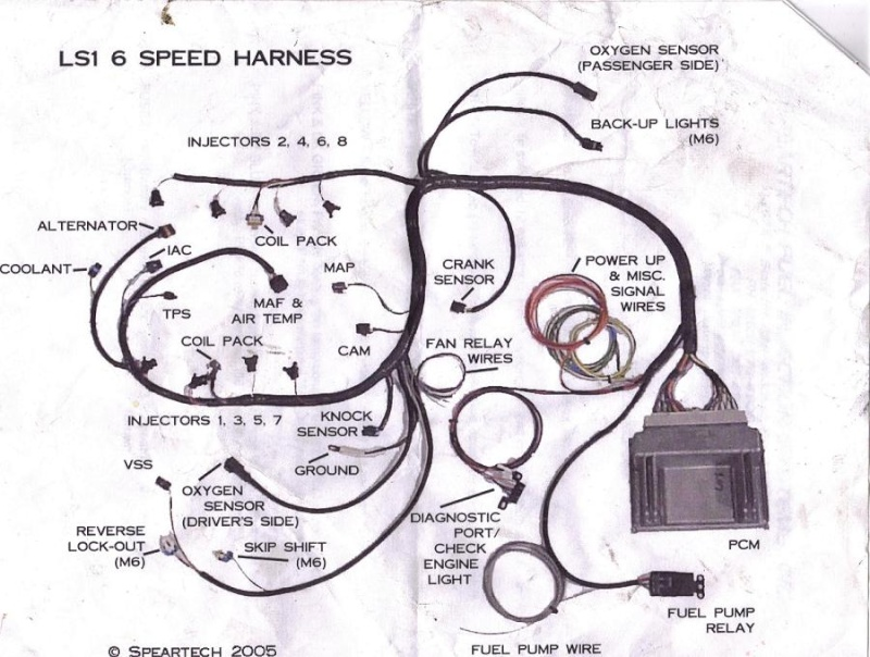 ls1 wire harness diagram wiring diagram ls1 harness start to finish third