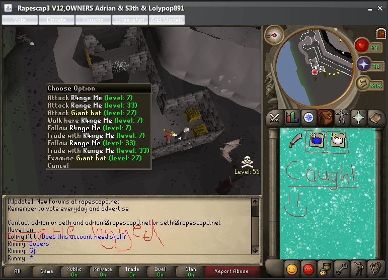 Caught people duping at mage bank. :D Caught10