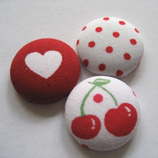 FABRIC BUTTONS! Button11
