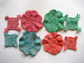 Recycled doilies Doilie14