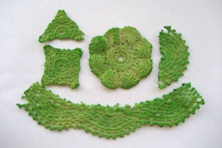 Recycled doilies Doilie18