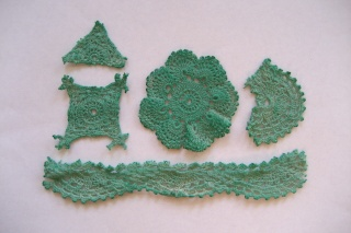 Recycled doilies Doilie19
