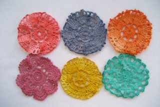 Recycled doilies Doilie20