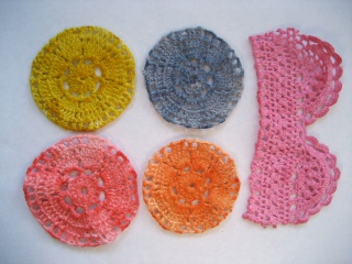 Recycled doilies Doilie22