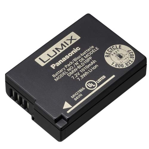 Panasonic Lumix DMC-GF2 battery DMW-BLD10 Bld10p11