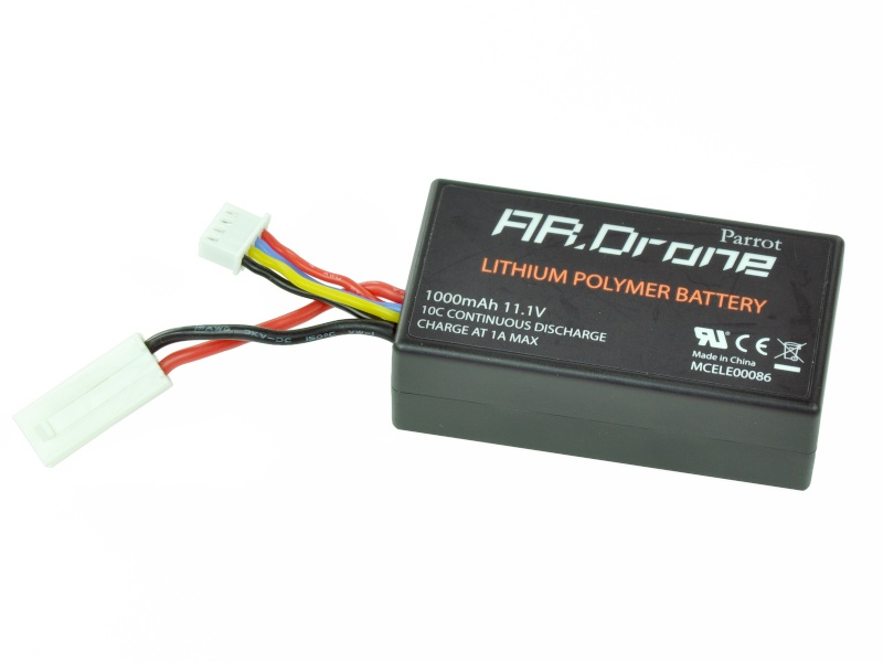 Parrot AR.Drone helicopter battery PF070009AA Drone10