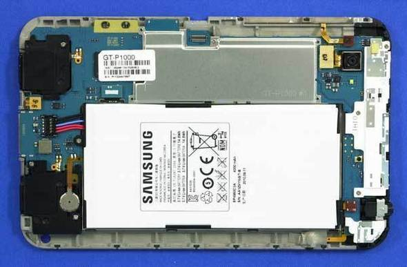 Samsung Galaxy Tab teardown shows huge battery Galaxy11