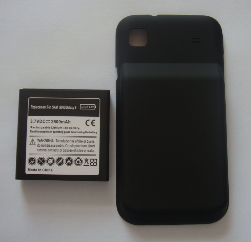 Samsung Galaxy S extended battery I900010