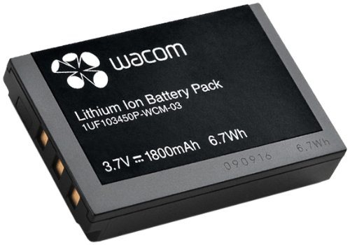 Wacom Intuos4 wireless tablet battery ACK-40203 Intou10