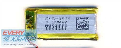 iPod Nano 6 battery 616-0531 Nano6a10