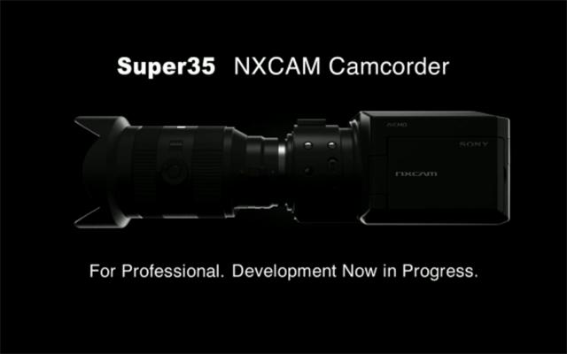 Sony NXCAM HD Camcorder in Development Nex10