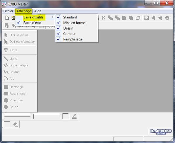 Mettre des fichiers GSD dans l'onglet MODELE de Robo-Master Captur18