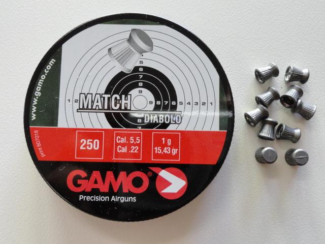 plombs 5.5 Gamo Match A796fc11