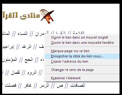 المصحف كاملا للشيخ سعد الغامدي برابط مباشر Mozill10