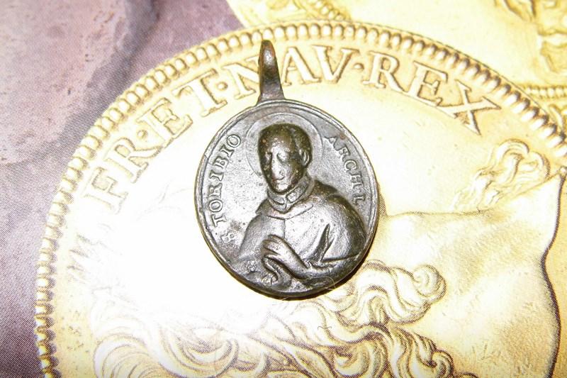 Médaille St-Alphonse de Toribio - Fin XVII/début XVIIIème Dsci2410