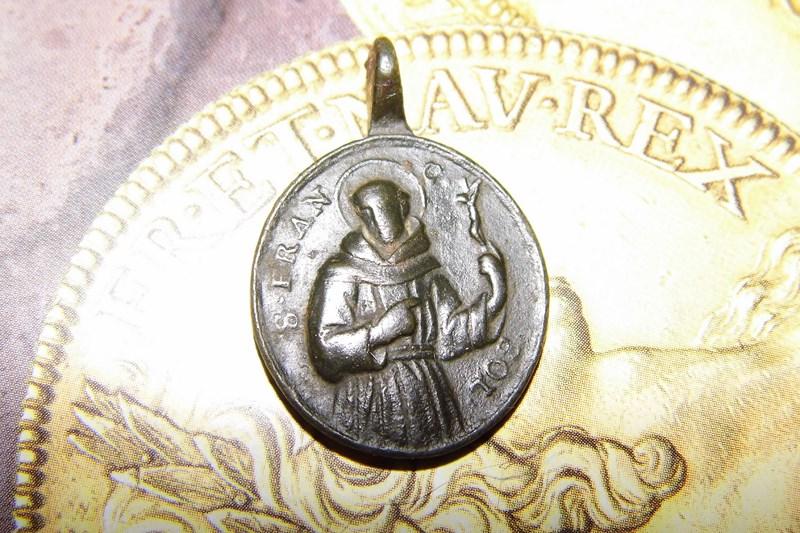 Médaille St-Alphonse de Toribio - Fin XVII/début XVIIIème Dsci2411