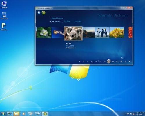 اخف نسخة ويندوز سيفن وبالحجم الخرافى Windows 7 Live CD 2010 بحجم 170 1zzm8010