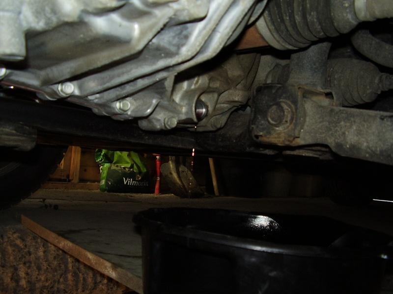 Vidange huile boite de vitesse P2200011