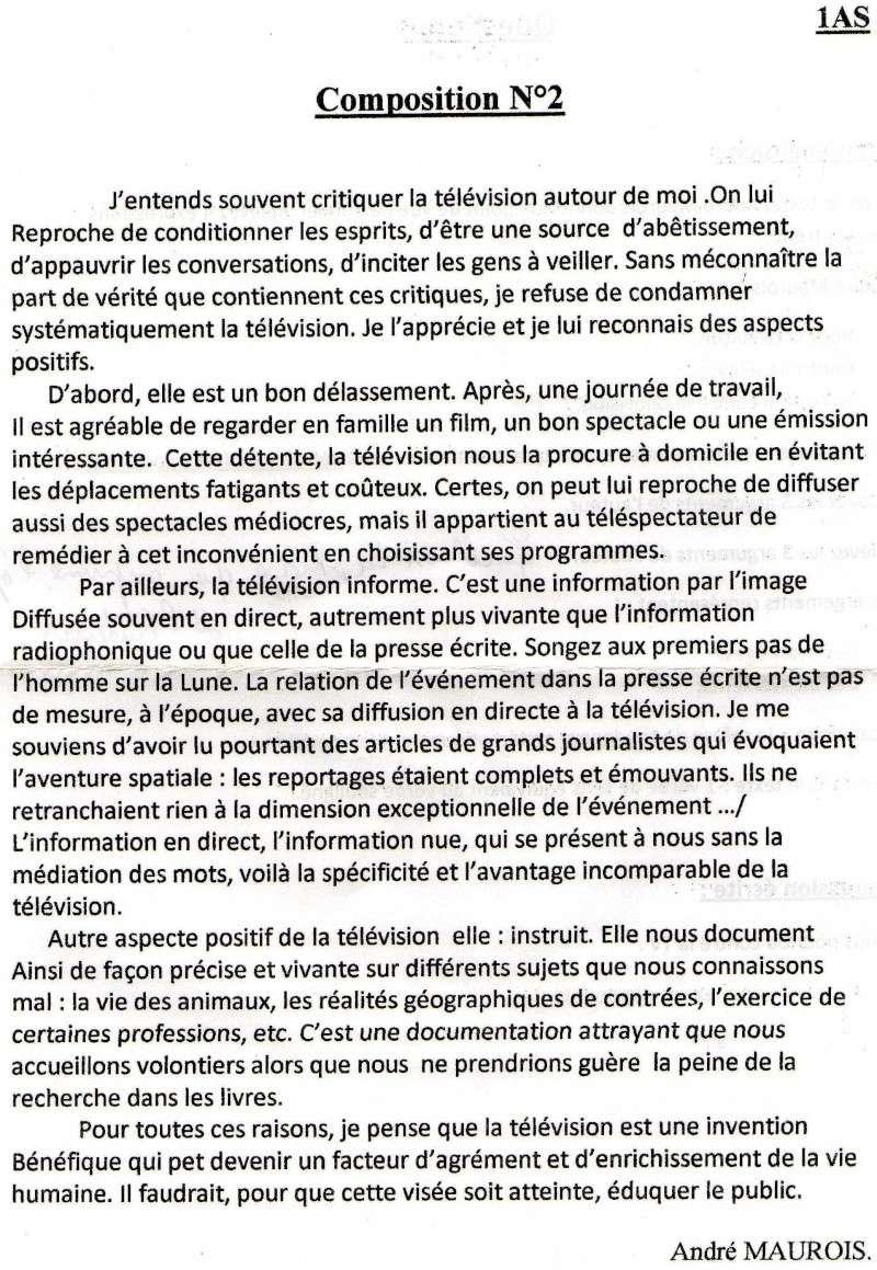 اختبار اللغة الفرنسية للسنة الاولى علمي Uouous10