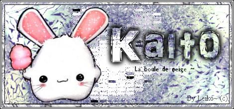 """Espace cadeaux """"Kaito-Okazaki"""" ! Kaito-10"""