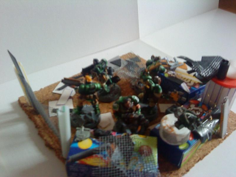 Ruine urbaine et barricade Barric11