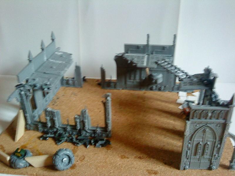 Ruine urbaine et barricade Ruine_10