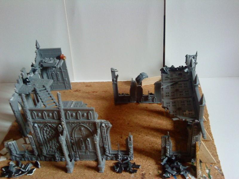 Ruine urbaine et barricade Ruine_12