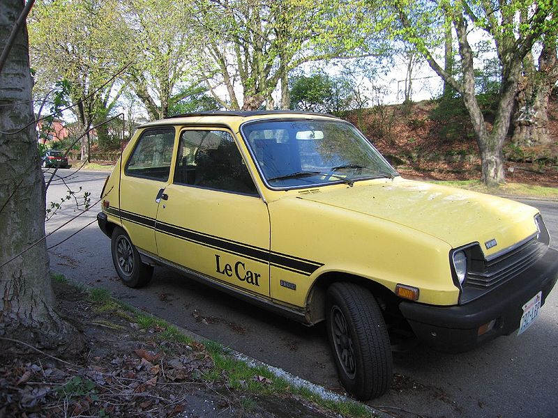 Renault 5 Specifications