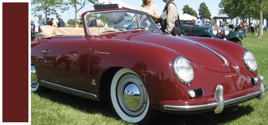 Codes peinture Porsche 356 540210